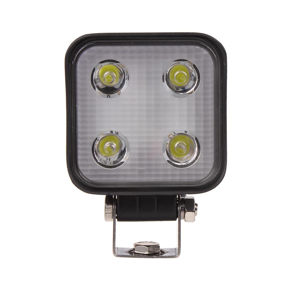 LED světlo hranaté, 4x3W, ECE R10/R23