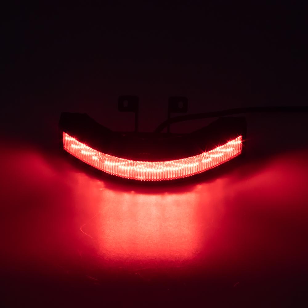 Výstražné LED světlo vnější, 12-24V, 12x3W, červené, ECE R10