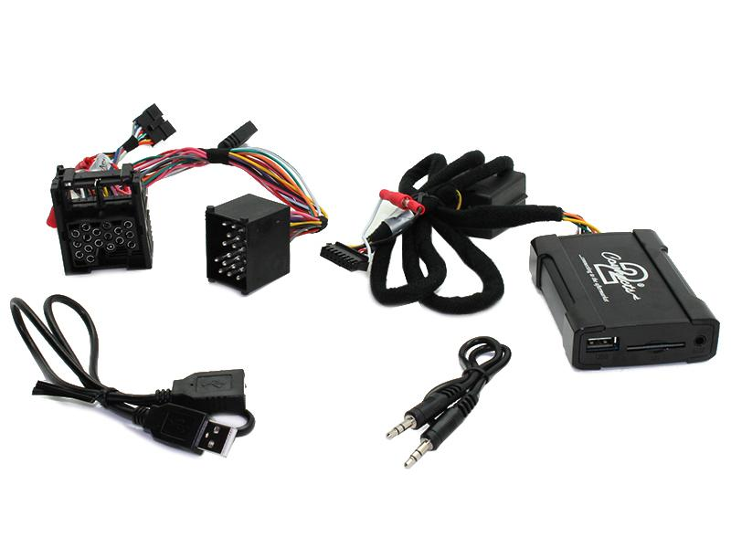 Connects2 - ovládání USB zařízení OEM rádiem BMWold/AUX vstup
