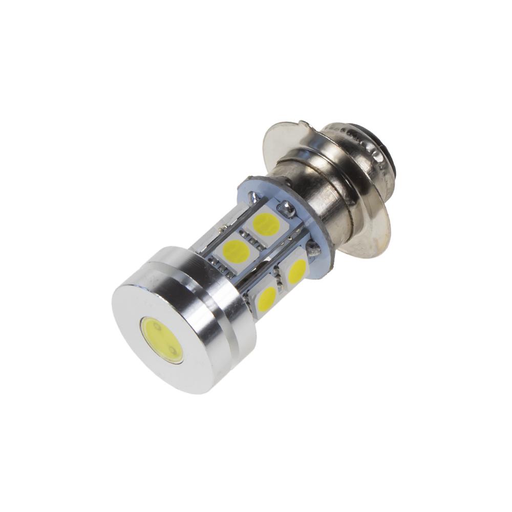 LED H6M (P15D) bílá, motocyklová