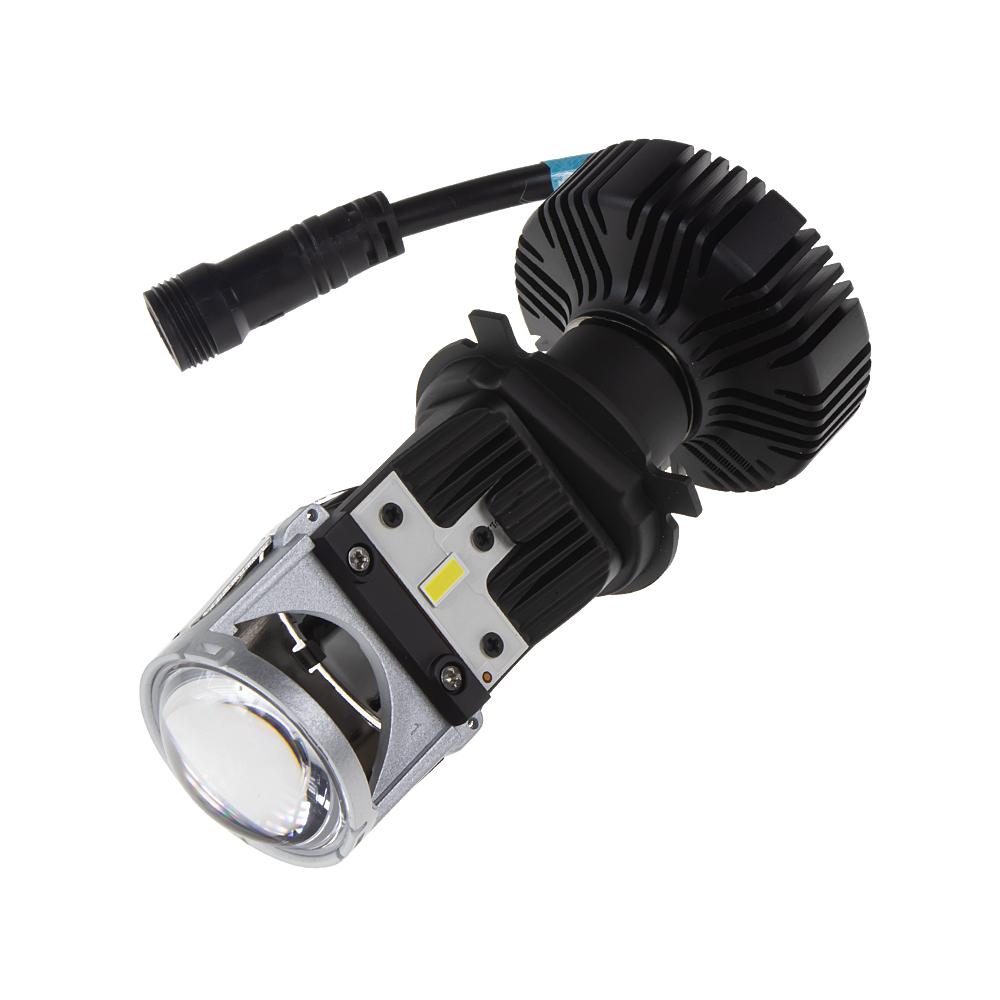LENS LED H4 bílá, 9-32V, 5000LM chip G-XP x3