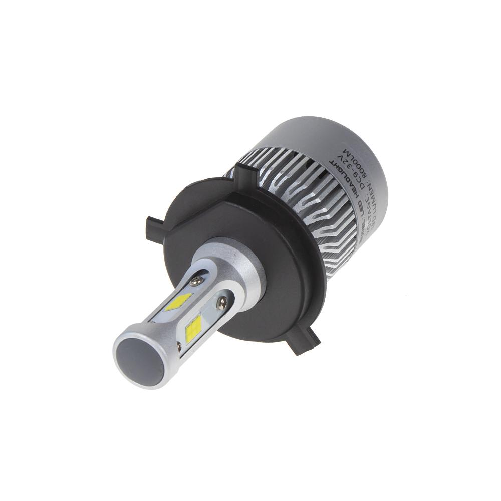 CSP LED H4 bílá, 9-32V, 8000LM