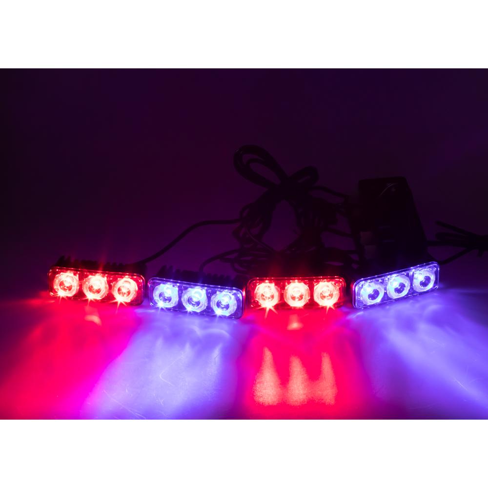 PREDATOR LED vnější bezdrátový, 12x LED 1W, 12V, modročervený