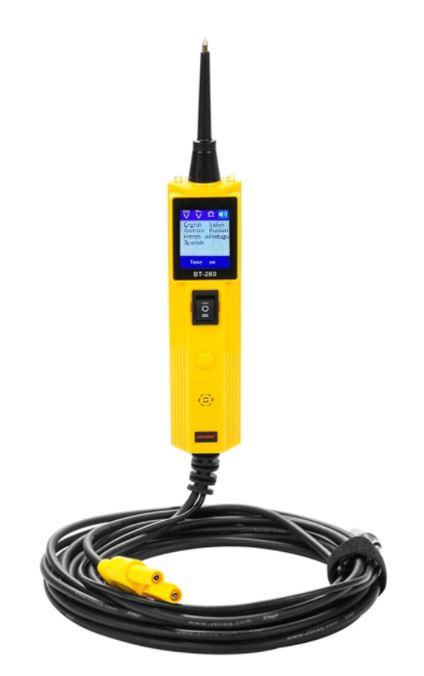 Digitální multifunkční tester - zkoušečka elektrických obvodů auta 12 / 24V
