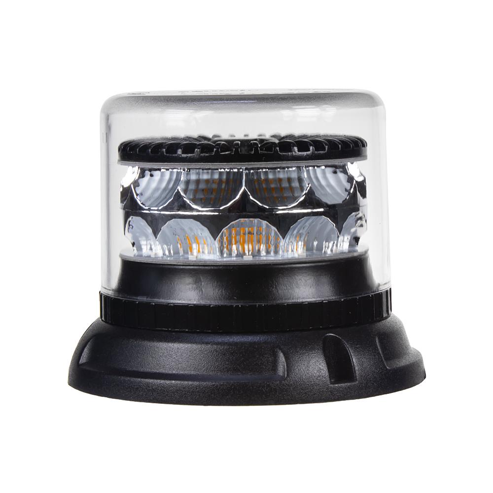 PROFI LED maják 12-24V 24x3W oranžový čirý133x110mm, ECE R65