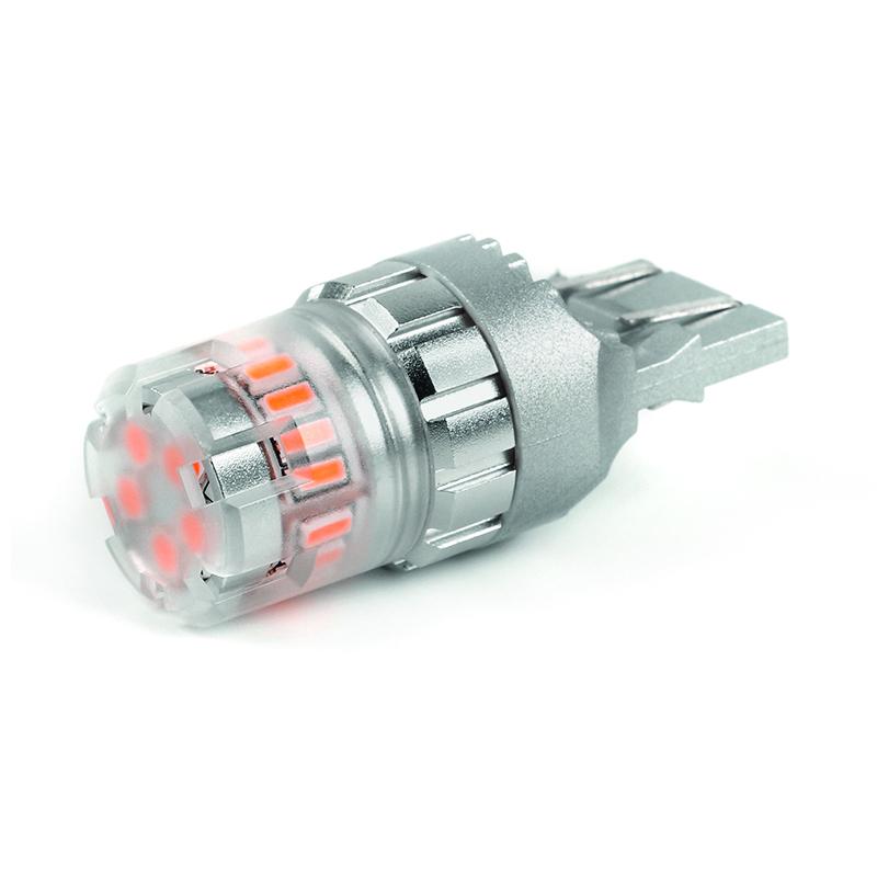 LED T20 (7443) oranžová, 12V, 23LED/4014SMD