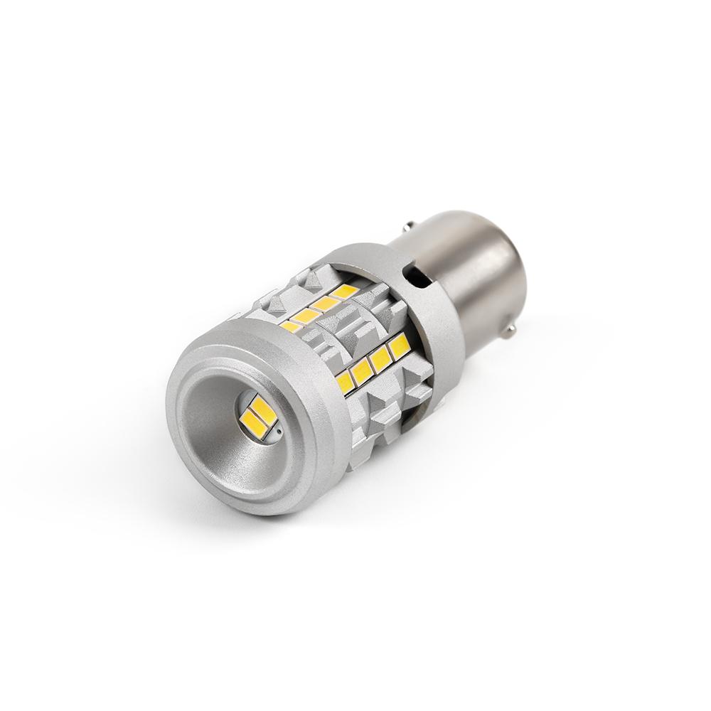 LED BA15S bílá, 12V, CAN-BUS, 26LED/3020SMD