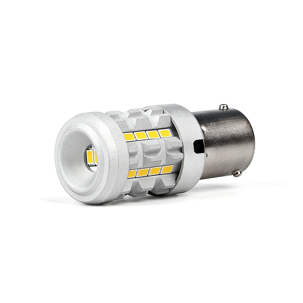 LED BAU15S bílá, 12V, CAN-BUS, 26LED/3020SMD