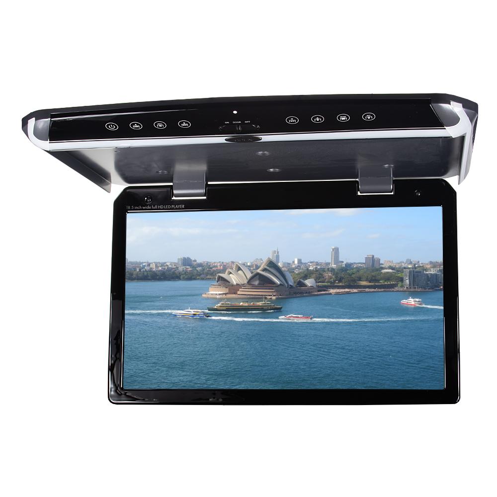 "Stropní LCD monitor 18,5"" / HDMI / RCA / USB / IR / FM"