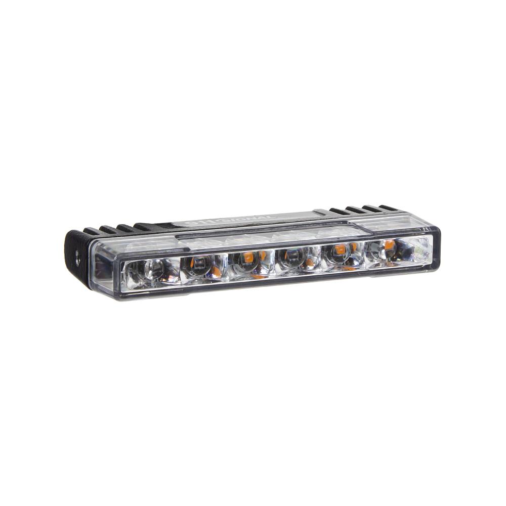 PROFI SLIM výstražné LED světlo vnější, do mřížky, oranžové, 12-24V, ECE R65