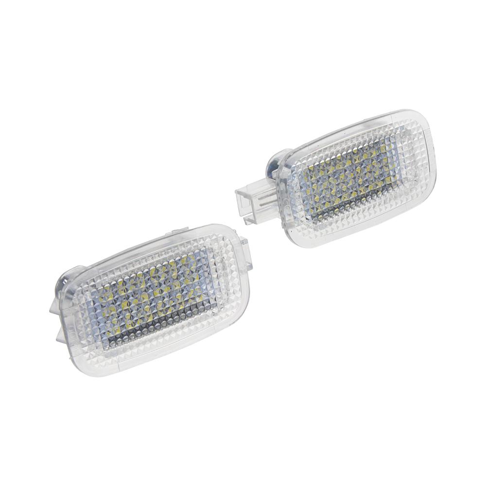 LED osvětlení interieru Mercedes