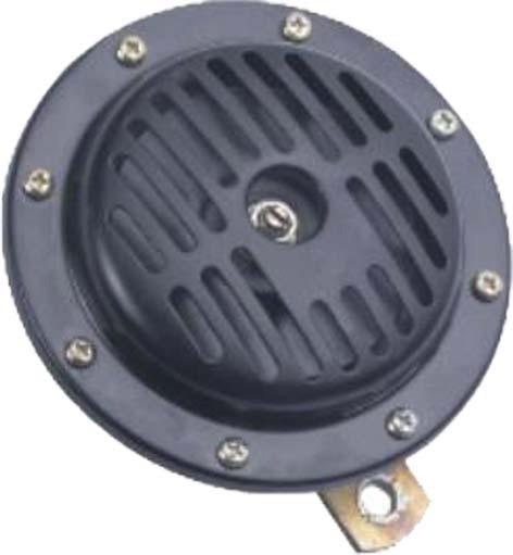 Diskový klakson (vysoký tón), průměr 130mm, 12V