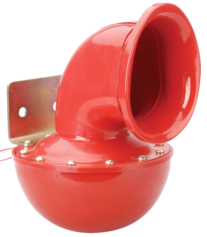 Bull horn siréna 12V, červená