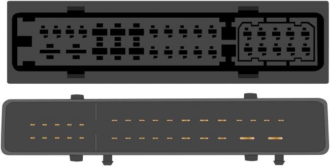 Kabeláž pro HF PARROT/OEM Audi A6,Q7 MMI (stříbrný zesilovač)