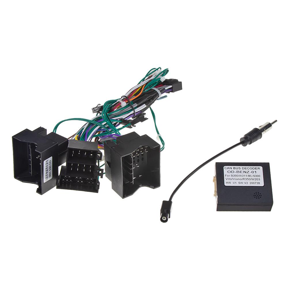 Adaptér z volantu pro Mercedes 2012- ISO pro rádia 80824A, 80829A, 80830A