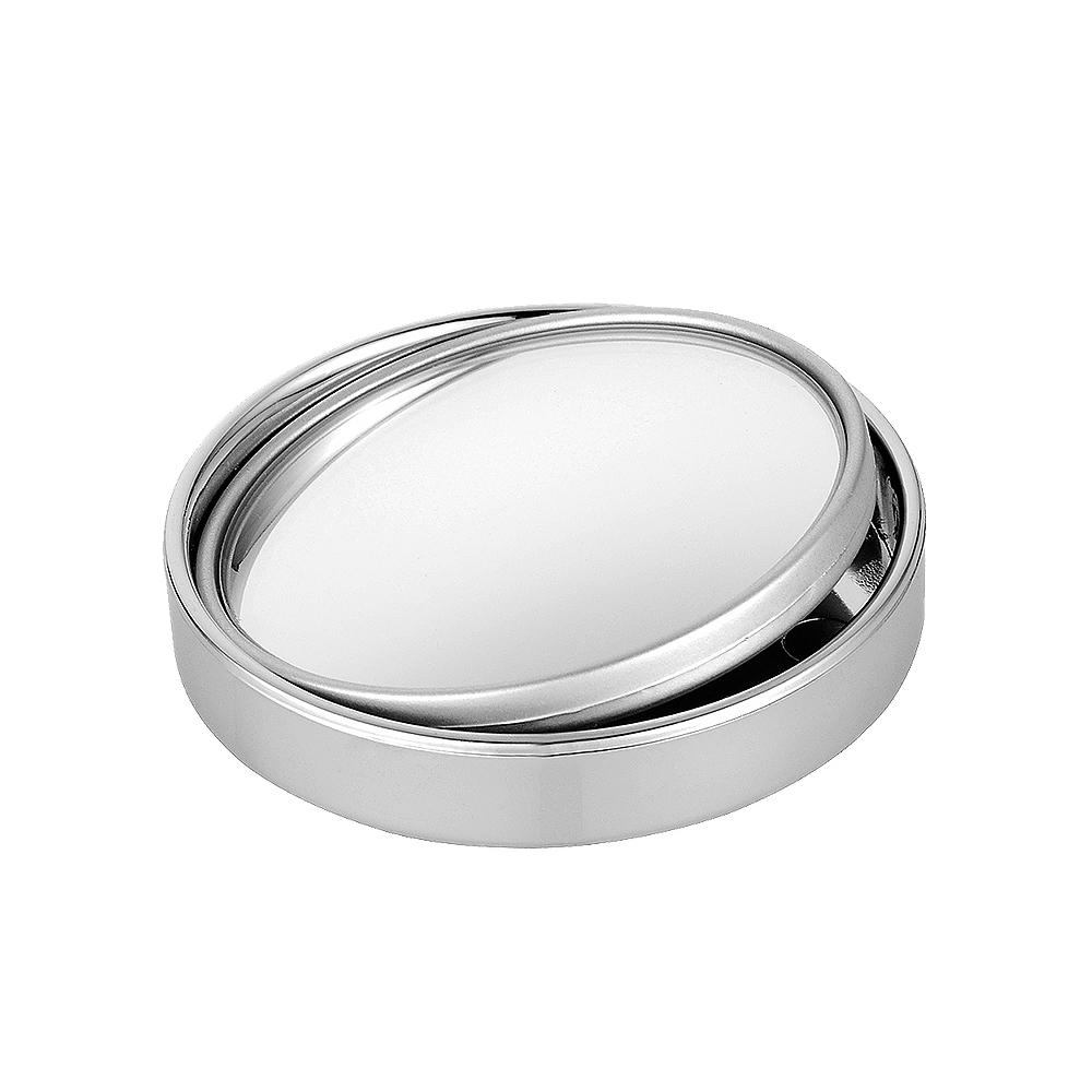Přídavné zrcátko sférické kulaté stříbrné 1ks