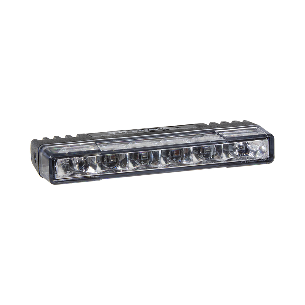 PROFI SLIM výstražné LED světlo vnější, do mřížky, červené, 12-24V, ECE R65
