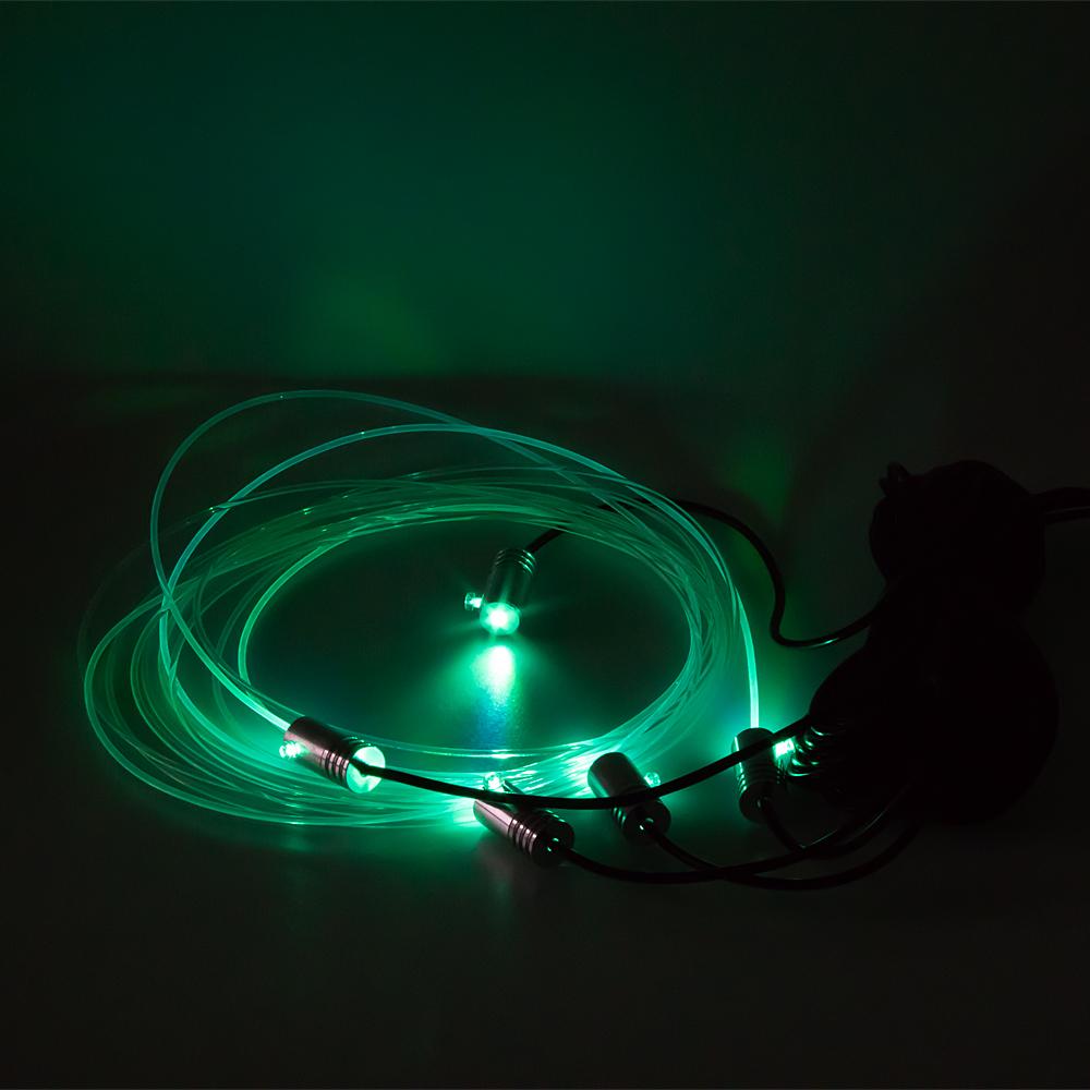 LED podsvětlení vnitřní RGB 12V, bluetooth, 5LED 6m