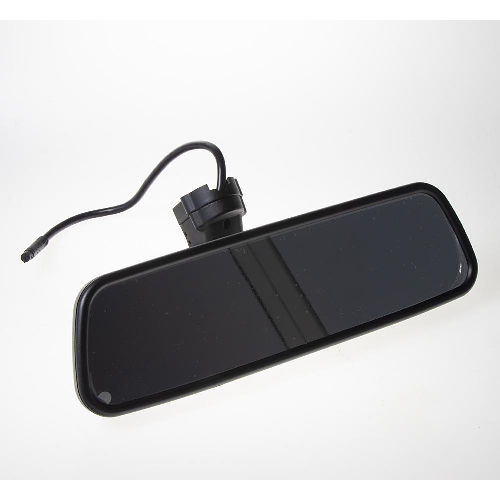 """LCD monitor 4,5"""" v zrcátku pro OEM montáž VW, Audi, Škoda... 2x 4PIN"""