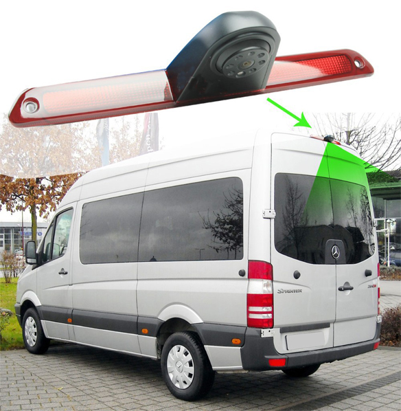Kamera 4PIN NTSC/PAL pro Mercedes Sprinter, VW Crafter