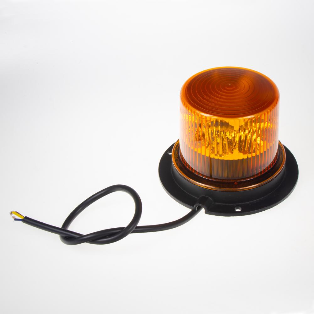 PROFI LED maják 12-24V 36x1W oranžový 130x90 mm