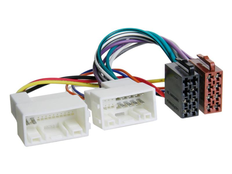 Konektor ISO Hyundai IX35 2010-, Kia Sportage 10-, Rio 2012-, I30 2012-