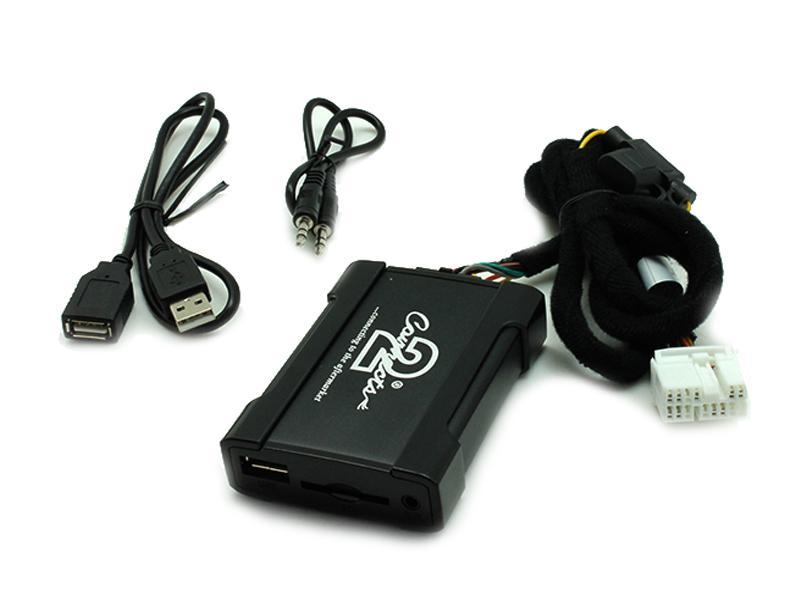 Connects2 - ovládání USB zařízení OEM rádiem Suzuki Swift/AUX vstup