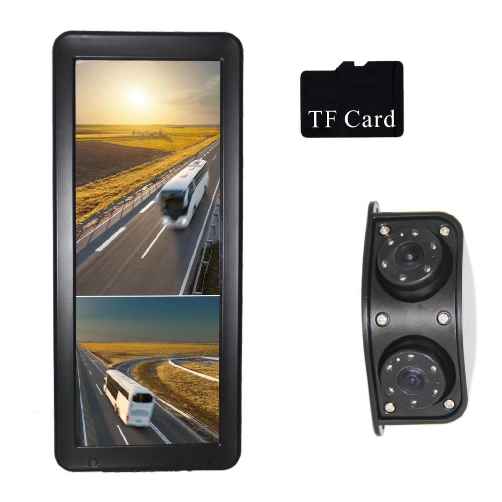 """AHD kamerový set s monitorem 12,3"""", dvojitá kamera, DVR"""