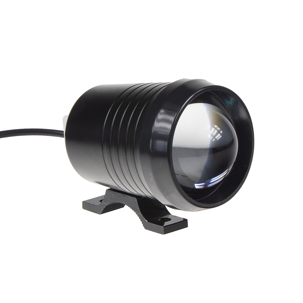 LED světlo kulaté na motocykl, 1x 10W, 57mm