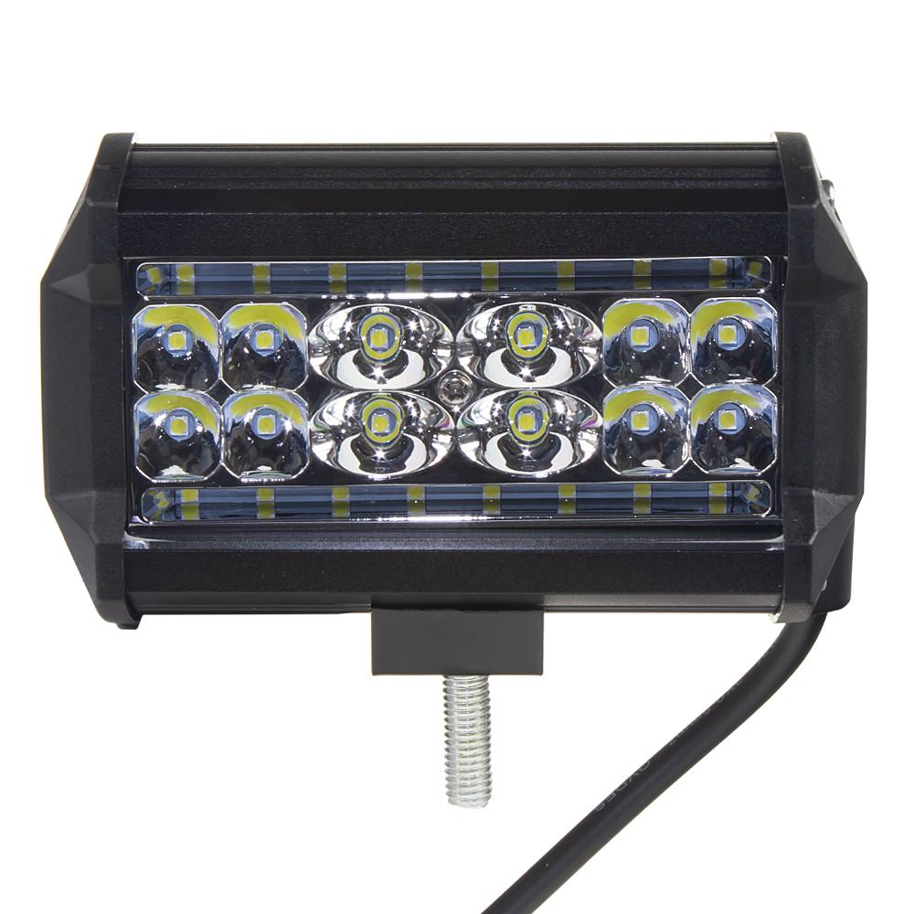 LED světlo obdélníkové, 28x3W, 130x76x62mm