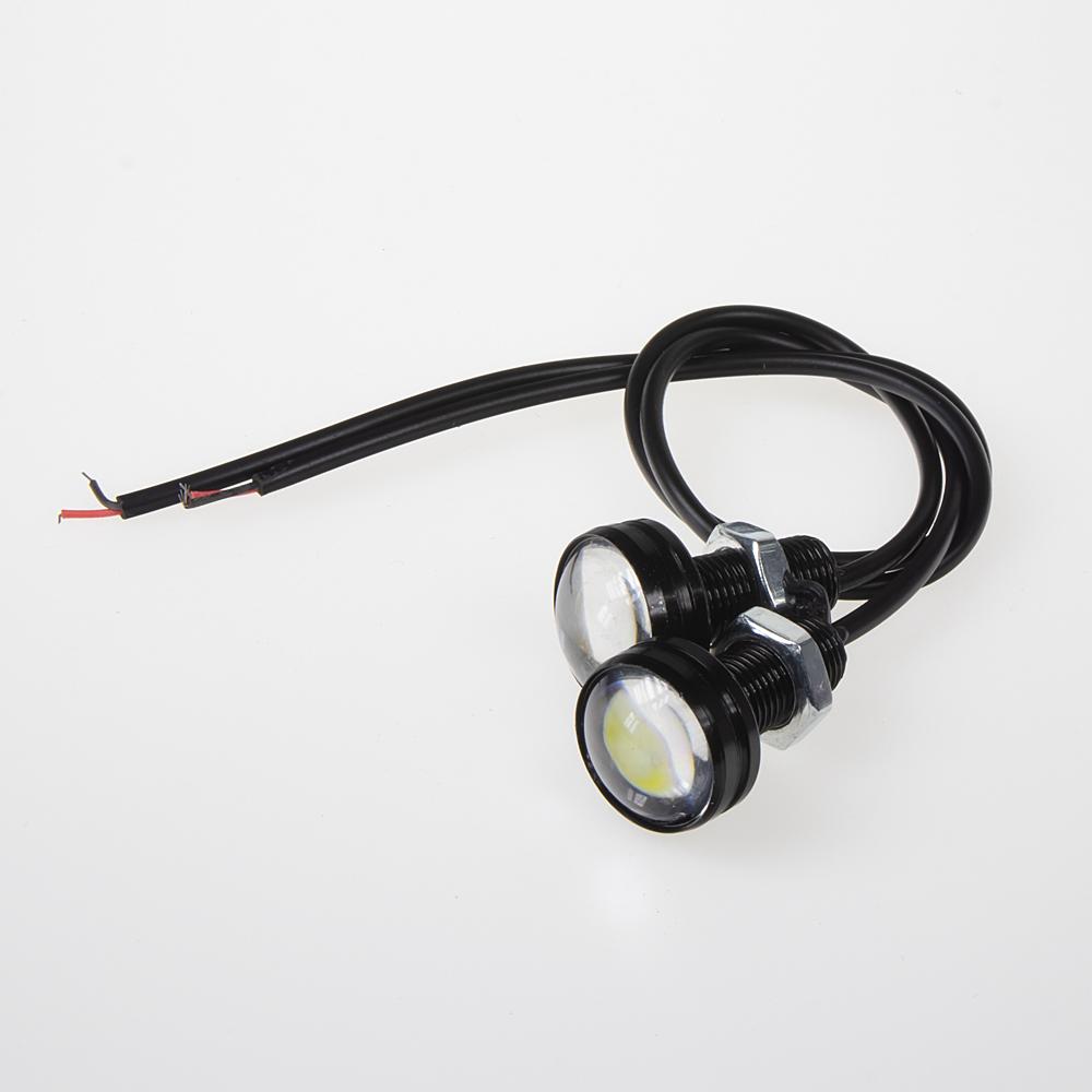 LED světlo pro denní svícení (eagle eye) 23mm, 12V, 3W, bílá