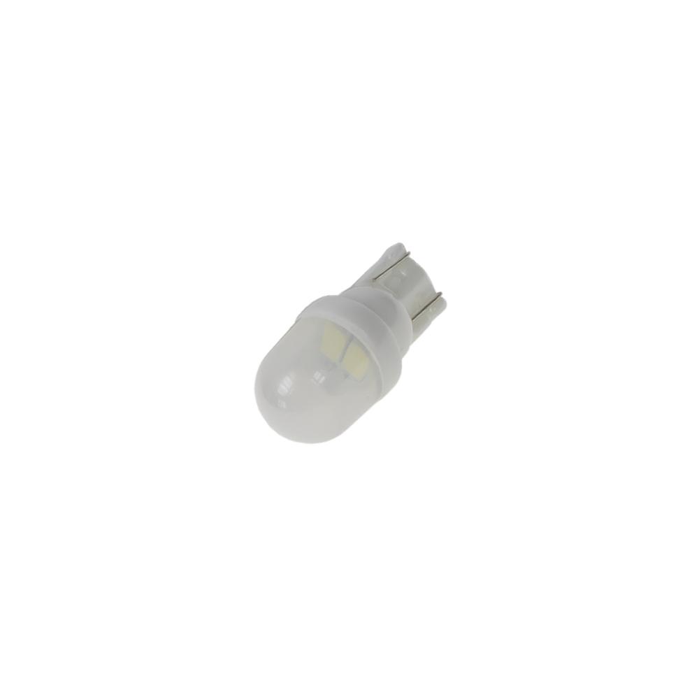 LED žárovka 12V s paticí T10, 2LED/5630SMD, keramika