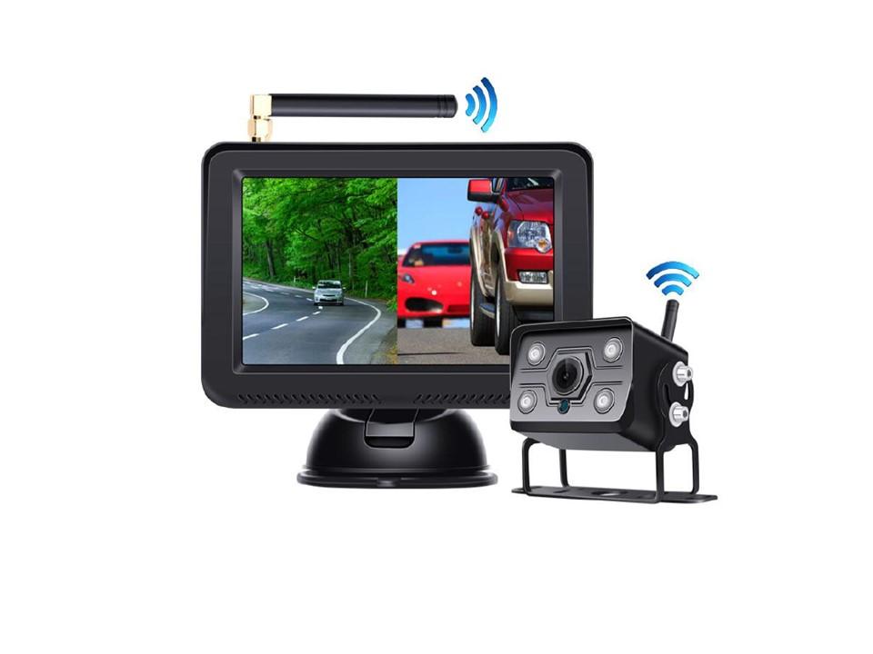 """SET bezdrátový digitální kamerový systém s monitorem 5"""" AHD, 2CH"""