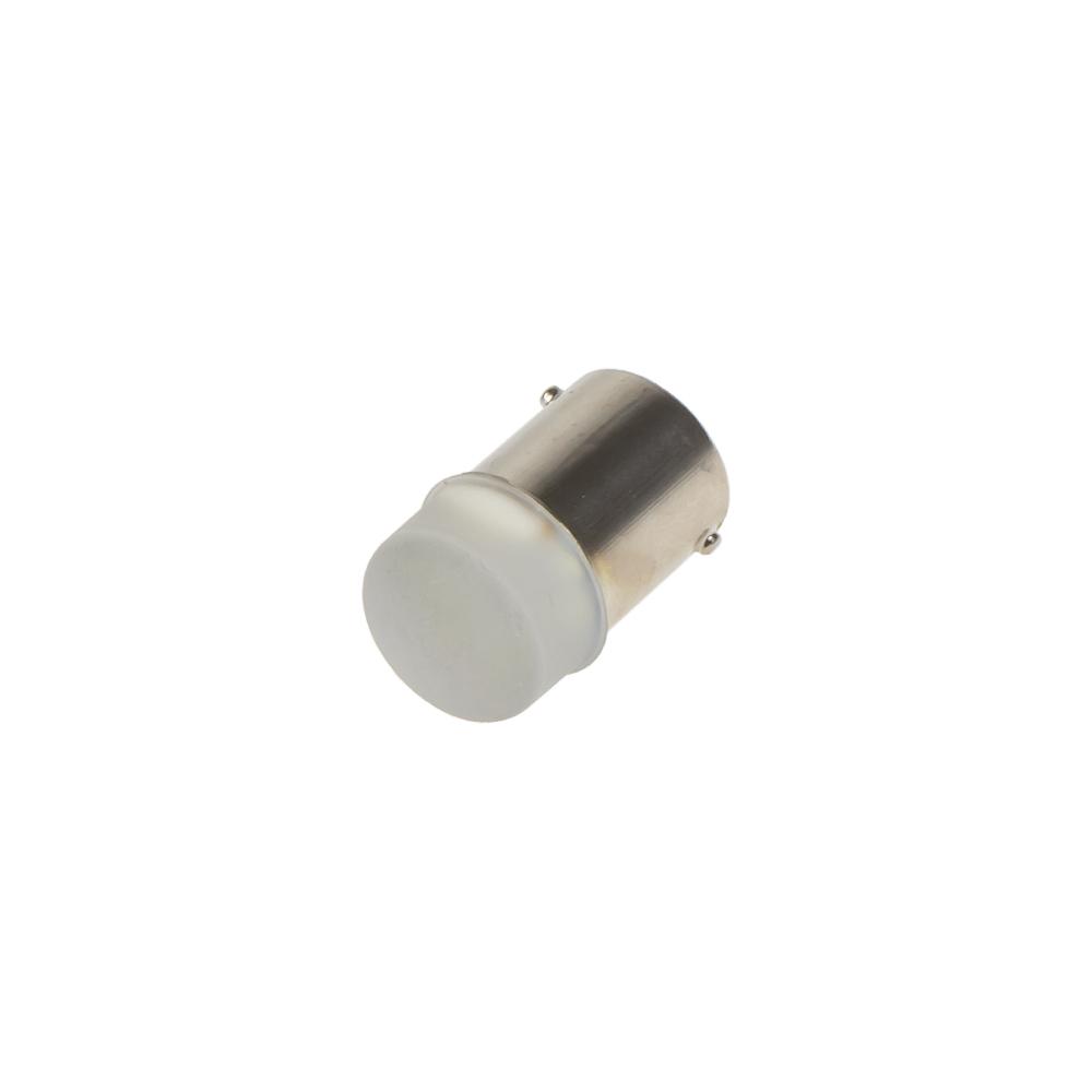 LED BA15s bílá, 12V, 9LED/3014SMD