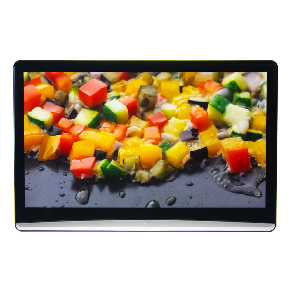 """LCD monitor 12,5"""" OS Android/USB/SD/HDMI in/out s držákem na opěrku"""