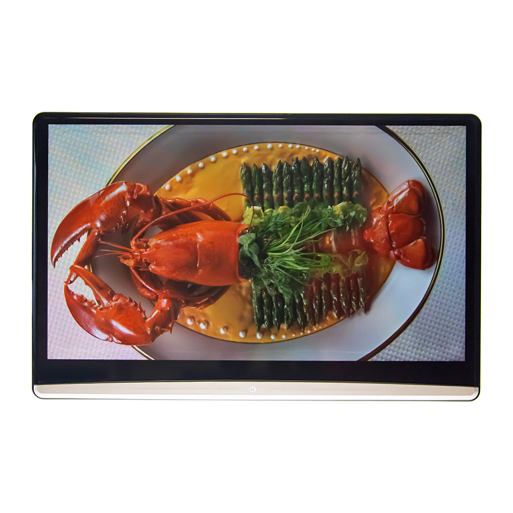 """LCD monitor 13,3"""" OS Android/USB/SD/HDMI in/out s držákem na opěrku"""