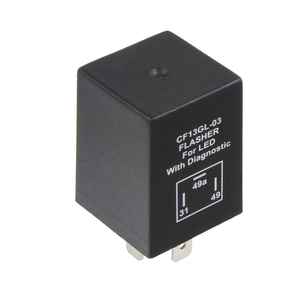 přerušovač blinkrů LED, 12V, 1-10A pro evropské vozy