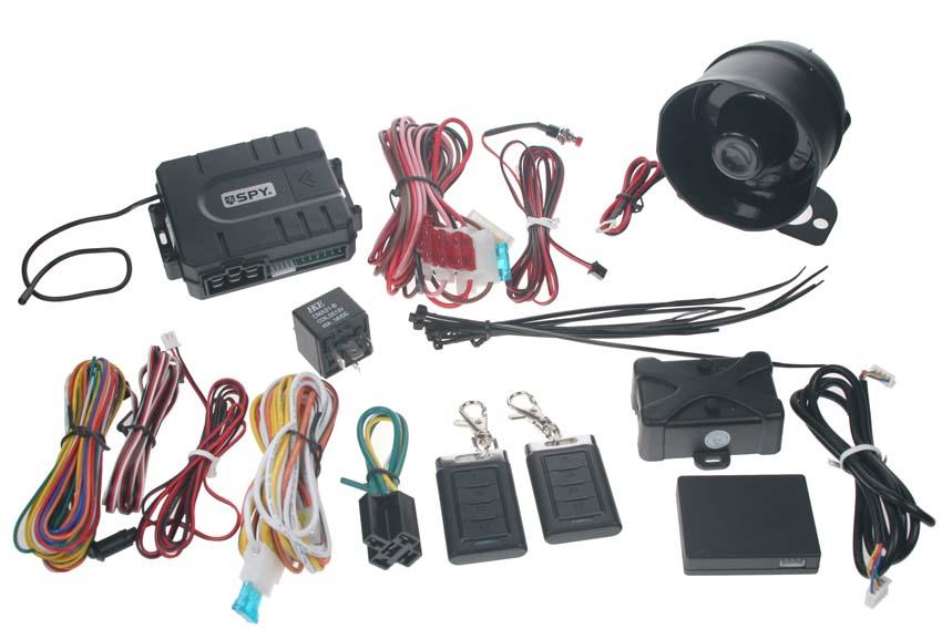 SPY autoalarm Keyless - bezdotykové dálkové ovládání