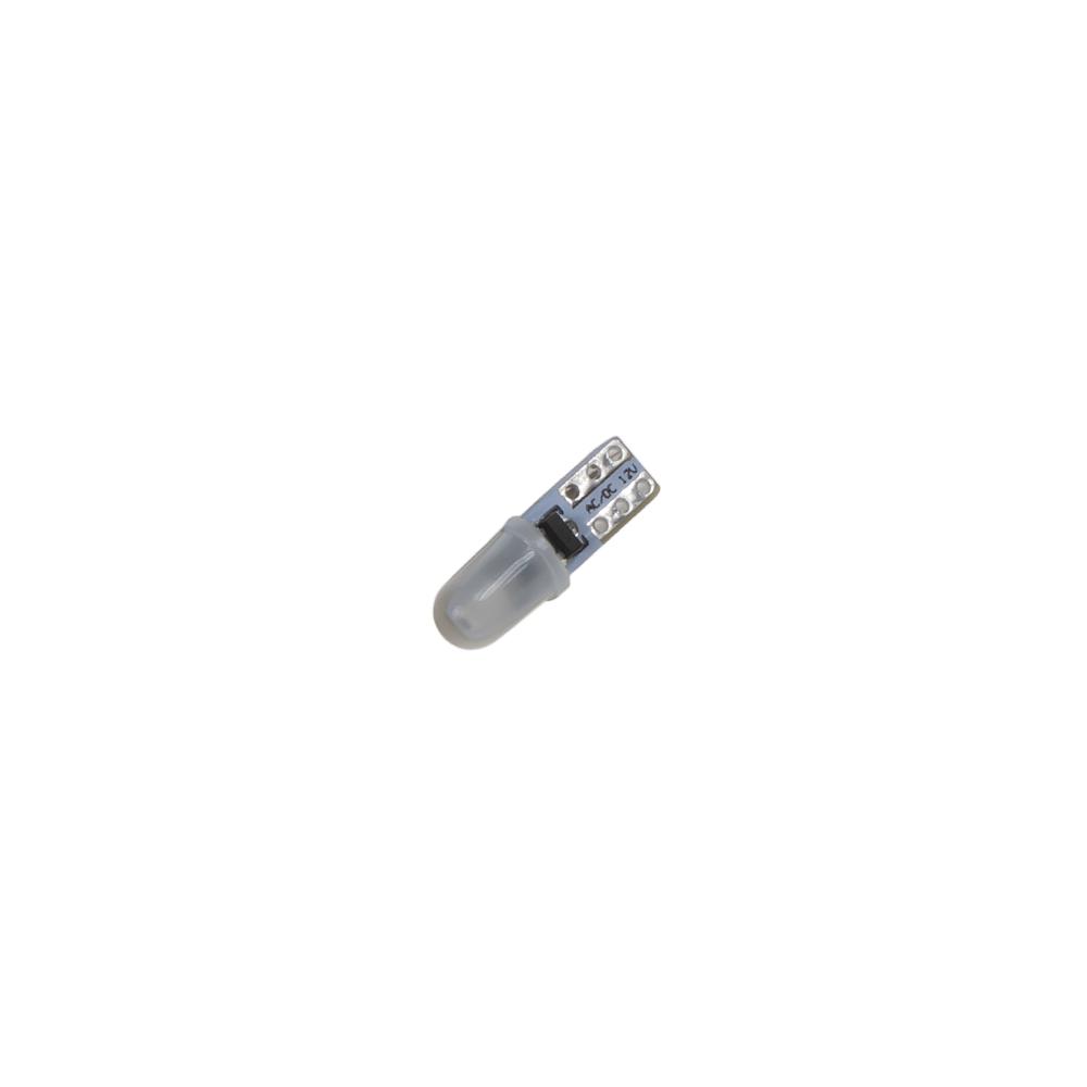 LED T5 ledově modrá, 12V, 2LED/3014SMD