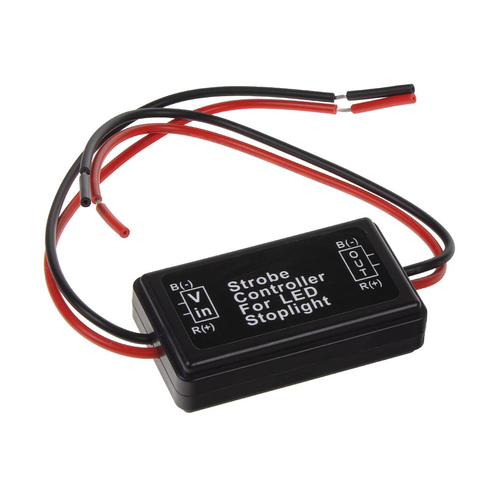 Bezpečnostní brzdové světlo pro LED žárovky 12V