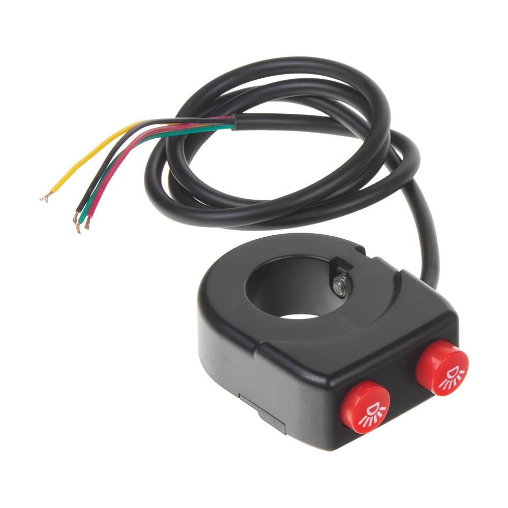 Spínač světel/predátorů/zvukových systémů na motocykl