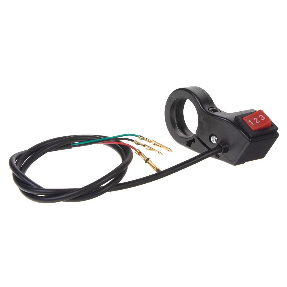 Přepínač světel/predátorů/zvukových systémů na motocykl