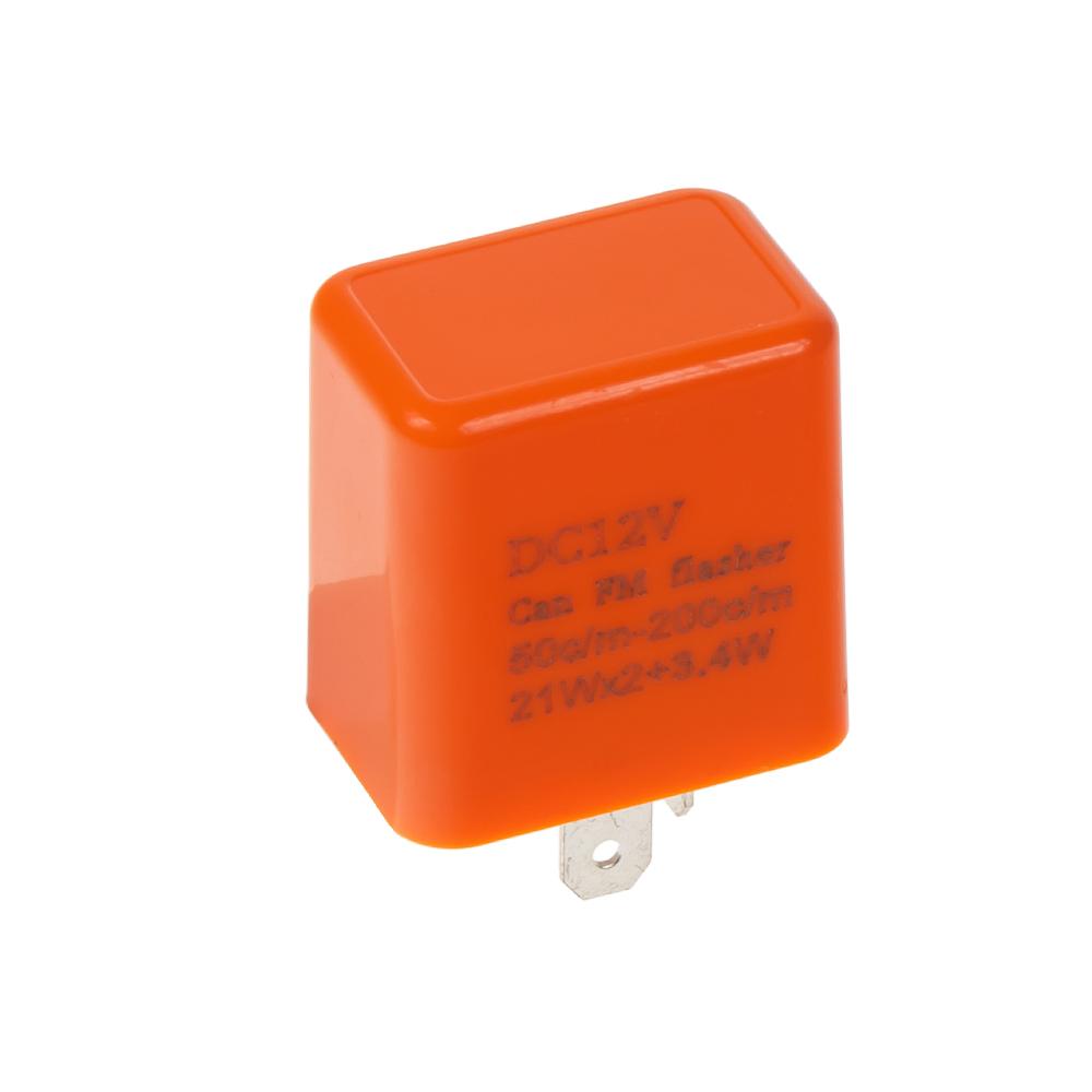 Přerušovač blinkrů LED, 12V, nastavitelná frekvence, pro motocykly