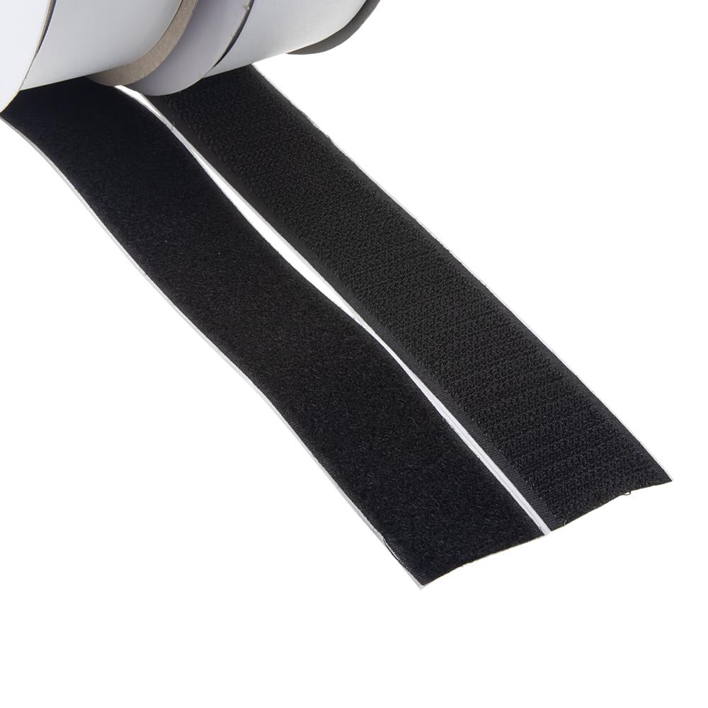 Suchý zip samolepící, smyčky + háčky 0,3x25m