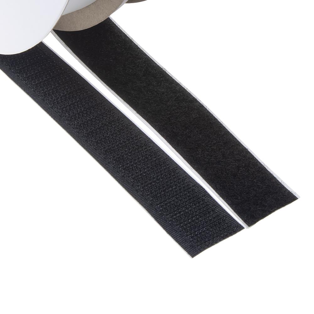 Suchý zip samolepící, smyčky + háčky 0,2x25m
