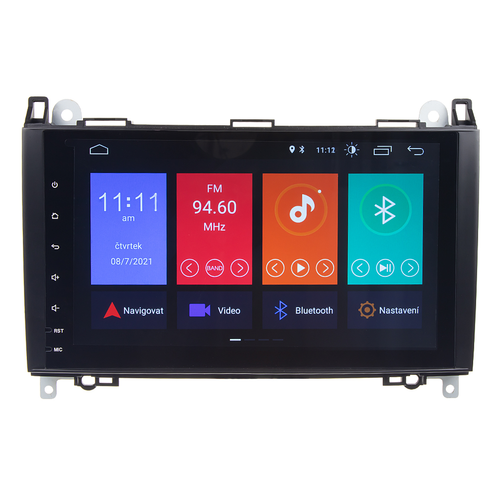 "Autorádio pro Mercedes s 9"" LCD, Android 10.0, WI-FI, GPS, Mirror link, Bluetooth, 2x USB"