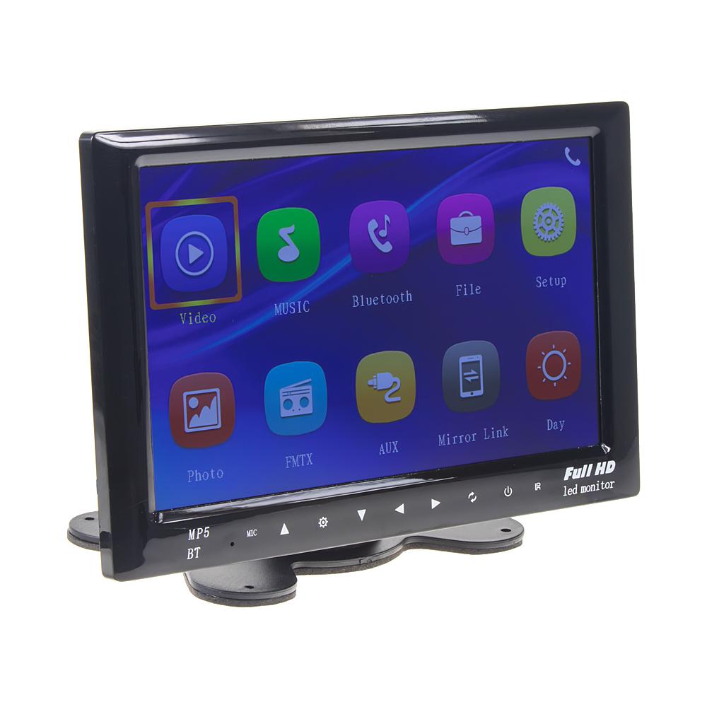 "LCD monitor 7"" na palubní desku s MP3/MP4/USB/Bluetooth/FMmod."