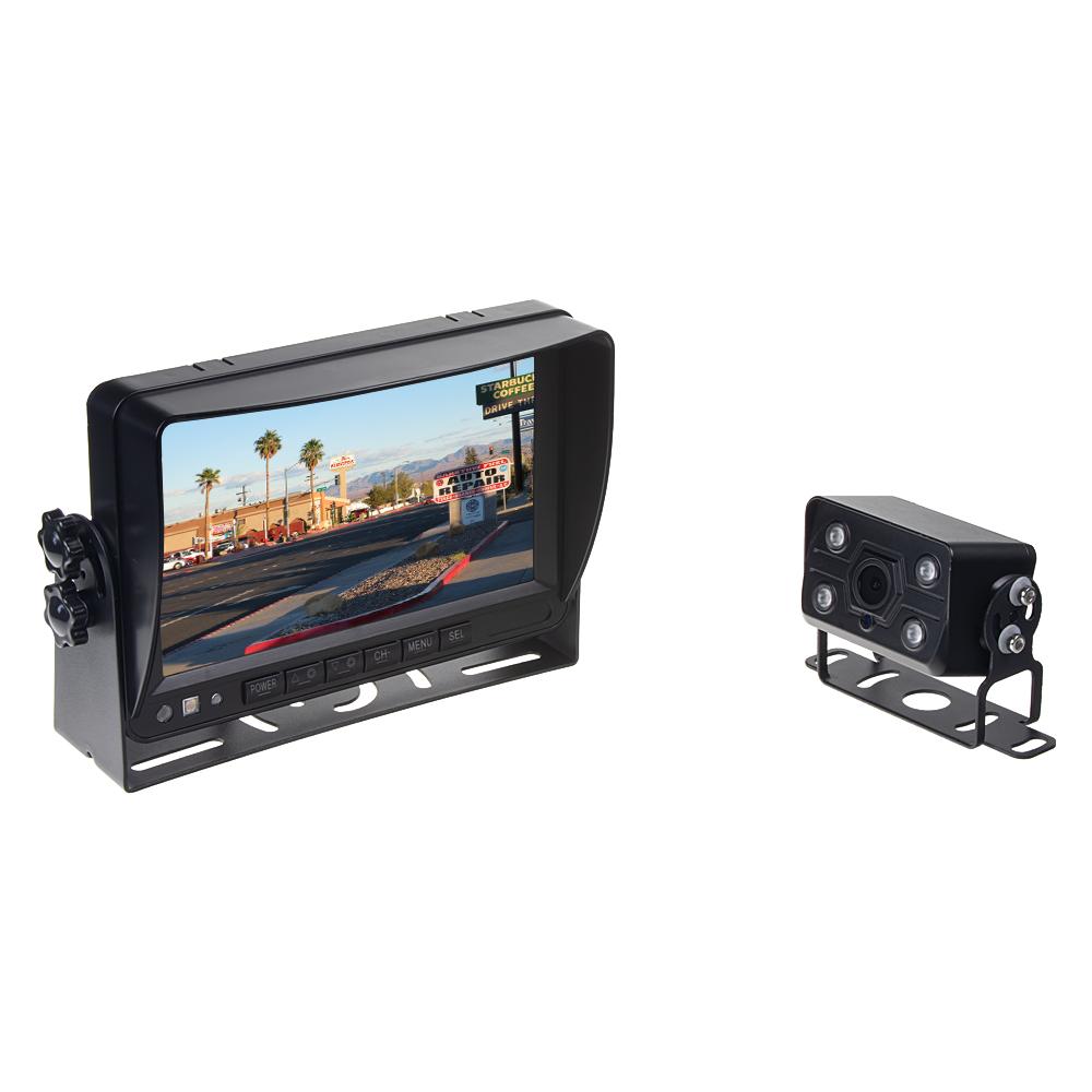 "AHD set monitor 7"" s 2 x 4PIN vstup, DVR, kamera, 15m kabel, CZ menu"