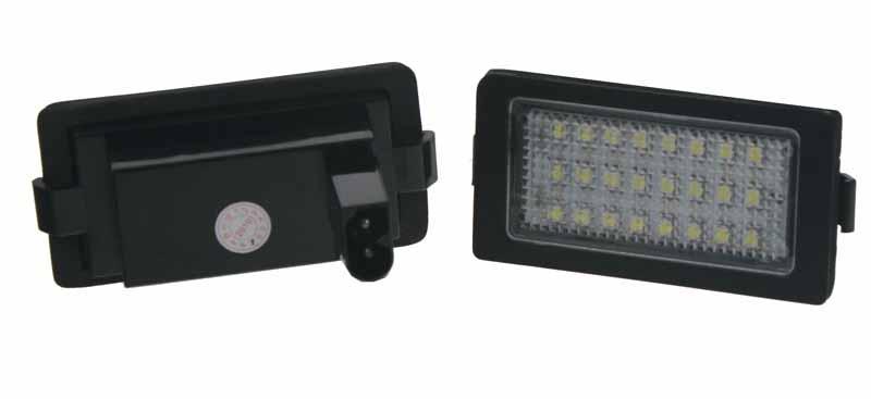 LED osvětlení SPZ do vozu BMW E38