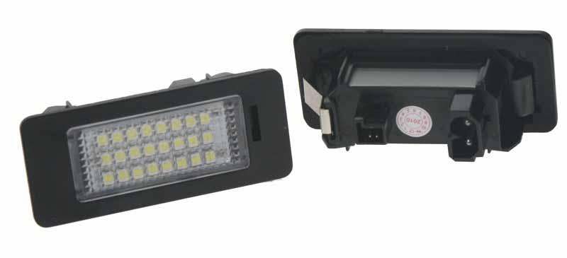 LED osvětlení SPZ do vozu BMW E39, E90, E91, E92, E93, E46